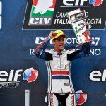 Raffaele Fusco premiato a Verona come miglior rookie della Moto3