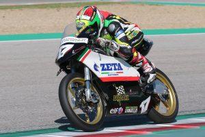 Antonio Frappola chiude con una scivolata un weekend comunque positivo