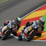 Lorenzo Bartalesi termina ad Aragon l'ultima gara in Red Bull Rookies Cup