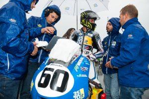 Gianluca Sconza a punti e in crescita al Mugello nella classe Moto3