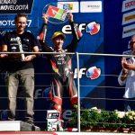 Un doppio podio al Mugello conferma Thomas Brianti leader in Premoto3