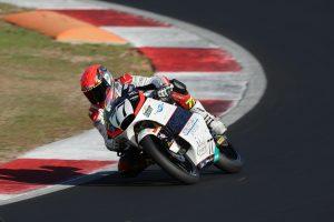 Raffaele Fusco termina a Vallelunga la stagione da Rookie dell'anno in Moto3