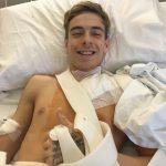 Kevin Sabatucci operato, intervento riuscito