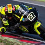 Thomas Rossi nel CIV 2018 con MTR e Honda in Moto3