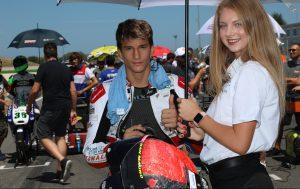 Raffaele Fusco al CIV Moto3 con Gradara Corse e TM