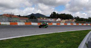 Tommaso Marcon chiude 9° e in crescita il primo weekend nel CEV Moto2