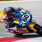 Gianluca Sconza in top 10 nel primo weekend con la KTM Moto3 nel CIV