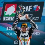 Thomas Brianti domina gara 2 nella Supersport 300 a Misano