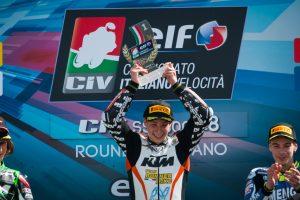 Thomas Brianti domina gara 2 nella Supersport 300 a Misano