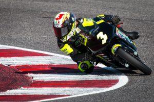 Ottimo esordio per Andrea Natali nel CIV Premoto3 a Misano