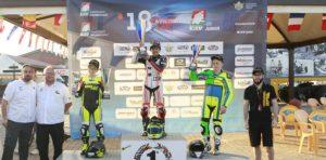 Alessandro Zanca trionfa nel primo round del CIV Junior Ohvale 190