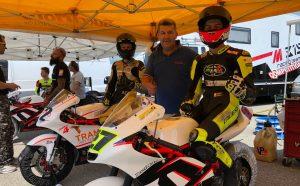 Rossi e Finello protagonisti della Moto4 al Motoestate a Varano
