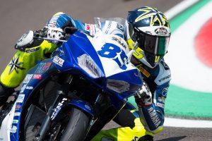 Kevin Sabatucci 6° e primo delle Yamaha nella Superpole Mondiale ad Imola