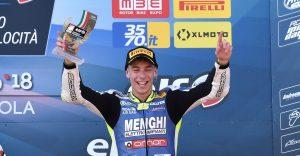 Altro podio per Kevin Sabatucci ad Imola in gara 2