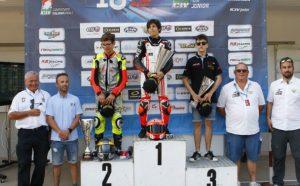 Alessandro Zanca trionfa nella Ohvale 190 al CIV Junior a Varano