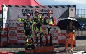 Ritorno alle gare con podio per Antonio Frappola nel suo esordio in Moto4