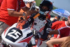 Alessandro Zanca continua il suo apprendistato a Misano in Premoto3