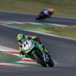 Diego Goretti subito a punti all'esordio con la Kawasaki