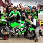 Tommaso Marcon ancora sul podio al CEV Moto2 in una gara pazza ad Albacete
